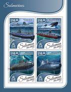 Solomon Islands 2017 Submarines - Submarines