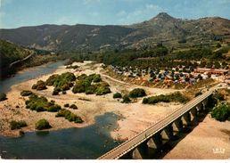 07----L'ARDECHE Au Pont De Sampzon--( Camping )---voir 2 Scans - France