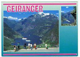NORWAY NORVEGE  GEIRANGER VIEW OF THE GEIRANGER FJORD   ***          A   SAISIR **** - Norwegen