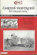 Cartes Postales Et Collections Juillet 1986   Magazines N: 110 Llustration &  Thèmes Divers 115 Pages - Français
