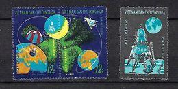 "Viet-Nord YT 728 à 730 "" Luna 16 "" 1971 Neuf** - Viêt-Nam"