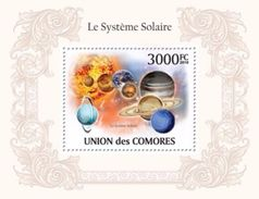 2010 Comores  Stamps  Solar System And Planets MS+S/S Stamp - Astrology