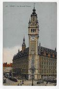 LILLE EN 1920 - N° 93 - LA NOUVELLE BOURSE ANIMEE - CPA VOYAGEE - Lille