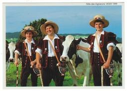 """Suisse // Schweiz // Switzerland // Vaud // Vevey, Fête Des Vignerons 1999,  Les Armaillis, """"les Solistes"""" - VD Vaud"""
