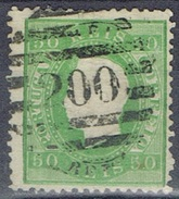 DO 7044  PORTUGAL GESTEMPELD YVERT NR 41A  ZIE SCAN - 1862-1884 : D.Luiz I