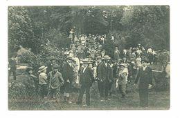 51 REIMS FETE SCOLAIRE AOUT 1903 PROMENEURS JARDIN DE LA PATTE D OIE ANIMATION MARNE - Reims
