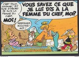 """Série Asterix Uderzo """" Asterix Chez Rahazade """" Carte Postale - Bandes Dessinées"""