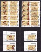 1992 Guernsey EUROPA CEPT EUROPE 6 Serie Di 4v. MNH** - Europa-CEPT