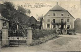 Cp Le Bonhomme Diedolshausen Elsass Haut Rhin, Au Lion D'Or, Zum Goldenen Löwen, Inh. Nicolas Minoux - Autres Communes