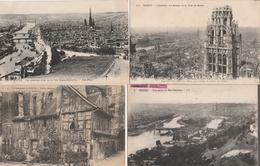 17 / 11 / 367     -   LOT  DE  20  CPA  DE  ROUEN  ( 76 )  Toutes Scanées - Ansichtskarten