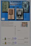 A1. TARJETA DEL CORREO. Benissa. 2004. 2 Entero Postal. 1ª Y 2ª Tirada. Postal Stationary. - 1931-....