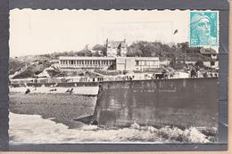 VEULES-LES-ROSES  S.Inf.   Ia Plage Et Le Casino   CPSM   Le 13 7 1953     Num 02725 - Veules Les Roses
