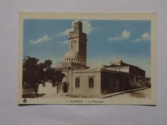 C.P.A. Couleur AUMALE ( Sour El Ghozlane) : Mosquée - Algérie