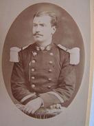 Photo Cdv Carte Visite Militaire A Identifier Empire Durand Paris - Guerre, Militaire