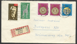 Germany, D.R., Registered Letter With Good Stamps, 1965. - [6] Oost-Duitsland