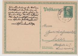W-GA357 / 80.Geburtstag Hindenburg 2.10.27 Ex Kaiserslautern - Briefe U. Dokumente
