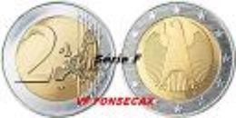 VF MOEDA DE 2 EURO DA  ALEMANHA 2006 LETRA # F # - Alemania