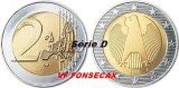 VF MOEDA DE 2 EURO DA  ALEMANHA 2006 LETRA # D # - Alemania
