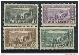 ANDORRE FR -  PAYSAGES-  N° Yvert  24/27** - Neufs