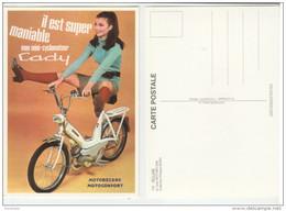 Mini-Cyclomoteur CADY - Motobécane-Motoconfort - Réclame, Publicité - Postcards