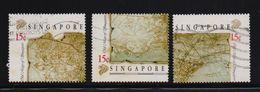 Singapore 1989, Minr 573-575, Vfu. Cv 6 Euro - Singapour (1959-...)