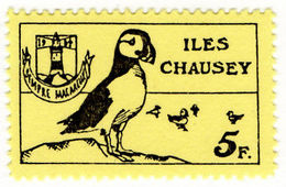 (I.B-JA) France Cinderella : Isle Of Chausey Local Post 5Fr - Europe (Other)