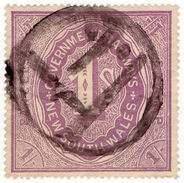(I.B) Australia - NSW Government Railways : Parcels Stamp 1/- - Australia