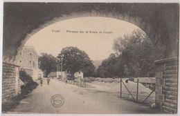 Cpa Yvoir    Route De Crupet - Yvoir