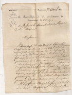 2 DOCS LETTRE 1811 SOUS PREFET ARIEGE / REMPLACEMENT SUCRE DES COLONIES / 1810 HOPITAUX DE PARIS  SIROP DE RAISIN AR127 - Documents Historiques