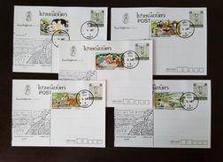 Thailand Postcard Stamp 1984 Coronation Day (5) - Thailand