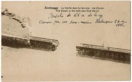 Zeebrugge  La Breche Dans Ke Clairvoie - Guerre 1914-18