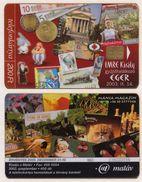 Hungary - K-2003-08 Egri Gyujtotalalkozo - Fair In Eger 2003 - 400ex Cat Owl Chess Elephant Kinder Parrott - Télécartes