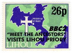 (I.B-JA) Cinderella Collection : Lihou Island 26p Overprint (BBC2 Visit) - Zonder Classificatie
