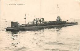 LE SUBMERSIBLE PRAIRIAL - Warships
