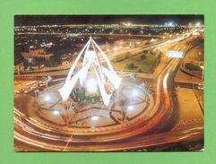 CPM  E.A.U.  ~  0005  Landmark Of Dubai - The Clock Tower  ( Posté Du Porte Hélicoptères Jeanne D'Arc 1996 ) - Emirats Arabes Unis
