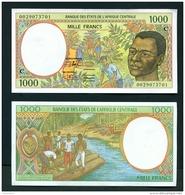 CONGO BRAZZAVILLE  -  2000  1000 CFA  Code C  UNC Banknote - Republic Of Congo (Congo-Brazzaville)