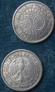 M_p> Germania Repubblica Di Weimar 50 Reichspfennig 1928 Zecca E - [ 3] 1918-1933 : Repubblica Di Weimar