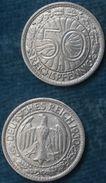 M_p> Germania Repubblica Di Weimar 50 Reichspfennig 1930 Zecca D - [ 3] 1918-1933 : Repubblica Di Weimar