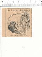 Le Langage Des Fleurs / Saule Pleureur /  Arbre  216PPF1 - Old Paper