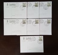 Thailand Postcard Stamp 1984 International Letter Writing Week - Herbs Postmark 7 Days - Thailand