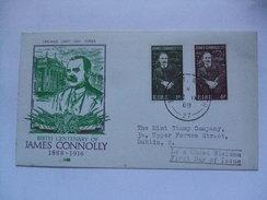 IRELAND - 1968 FDC - James Connolly - 1949-... Repubblica D'Irlanda