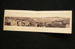 Maroc CP Panoramique Prise Hotel Lutetia Tanger Avec N° 270  De 1949 - Marruecos (1891-1956)