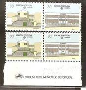 1990 Portogallo Madeira Portugal EUROPA CEPT EUROPE 2 Serie Di 2v. MNH** - Europa-CEPT