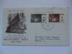 IRELAND - 1966 FDC - Ballintubber Abbey - 1949-... Repubblica D'Irlanda