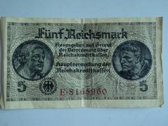 BILLET  5  REICHSMARK - Allemagne