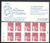 Carnet Marianne De Luquet N° 3419 C6 Daté Livraison Gratuite - 1997-04 Marianne (14. Juli)