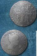 M_p> Spagna Isabella 2° -  8 Maravedis 1839 Zecca Acquedotto - [ 1] …-1931 : Regno