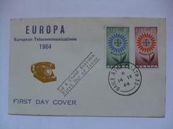 IRELAND - 1964 FDC - Europa 1964 - 1949-... Repubblica D'Irlanda