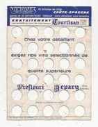 Carte épargne ,VINOLUX , Vin , Courtisan , Frais Fr : 1.55 E - Advertising