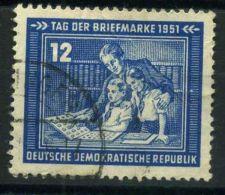 ALLEMAGNE  QRIENTALE  ( POSTE )  Y&T  N°  47  TIMBRE  BIEN  OBLITERE , A  VOIR . - DDR